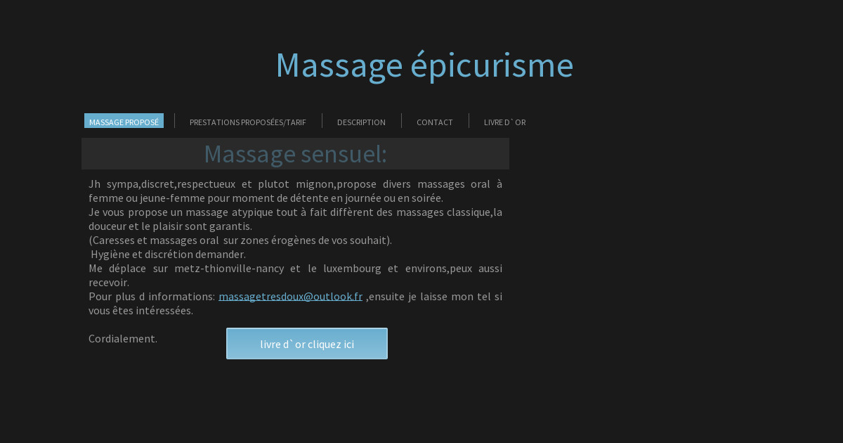 massage sensuel tarbes nancy